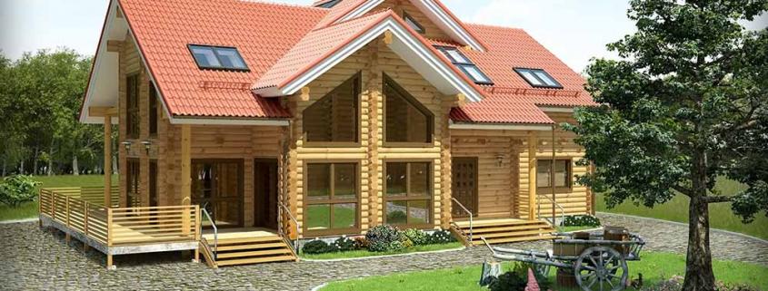 Ricostruire un casa in legno